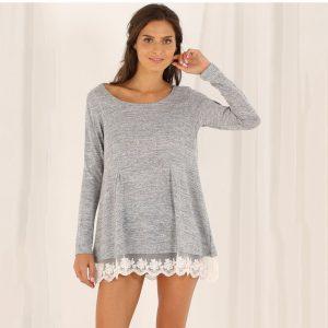 suéter encaje
