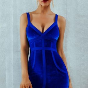 bandage-velvet-blue
